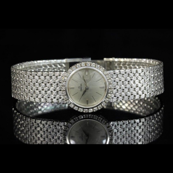 Omega Dame or et diamants