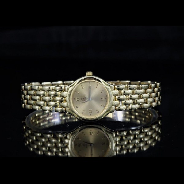 Omega Lady Yellow Gold